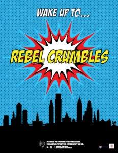 rebel ventures, crumble posters