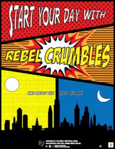 Rebel Ventures, crumbles posters